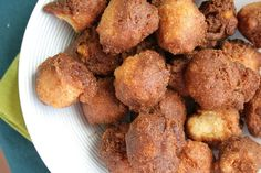 Sweet Corn Hushpuppies - Crisp, golden brown insides and warm, lightly sweet insides make these Sweet Corn Hushpuppies the quintessential Southern side dish.