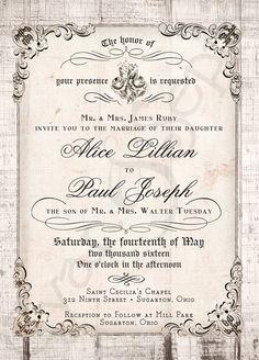 Fairy Tale Wedding Invitation Wording From Invitationsbydawn