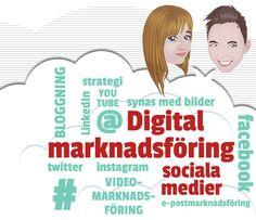 Utbildning digital marknadsföring och sociala medier