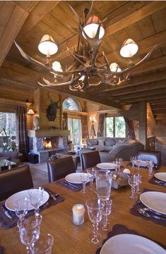 That chandelier!! Luxury Chalet Rentals - France - Courchevel