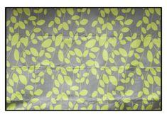 Sivá pikniková deka s motívom zeleného lístia Valance Curtains, Home Decor, Decoration Home, Room Decor, Home Interior Design, Valence Curtains, Home Decoration, Interior Design
