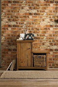 Bricks wallpaper from the Next UK online shop