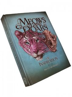 """""""Meows and Roars of Inspiration: The Cat Art Project"""" by Out of Step Books #inked #inkedshop #inkedmagazine #books #cats #meowsandroars"""