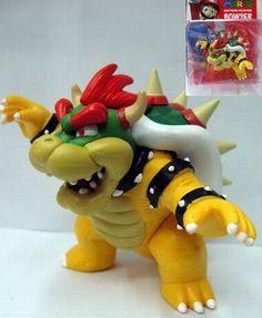 Super Mario Bros Bowser Figure MLFG7440