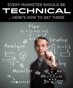 A guide to being a technical marketer  http://www.seomoz.org/blog/every-marketer-should-be-technical