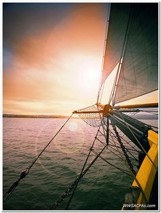 When you are on a long sail you feel like the sun is raising and setting more often