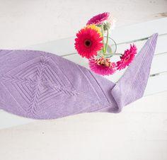 Spreading Vines by Jennifer Weissman Knit Scarf Kit - None