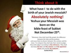 Actually Christ was born on Sept. 11, 3 BC.