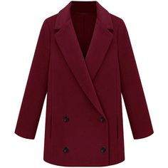 Blackfive Long Sleeves Solid Color Coat (4.045 RUB) ❤ liked on Polyvore featuring outerwear, coats, jackets, blackfive, coats & jackets, purple coat and long sleeve coat