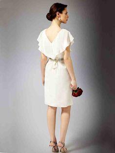 Simple Knee Length Wedding Dresses