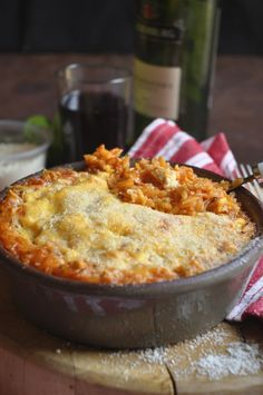 Risoni (orzo) - Baked with the simple flavors of the Mediterranean