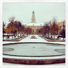 discoverdenton's photo on SnapWidget College Aesthetic, Denton Texas, University Of North Texas, Mean Green, Texas History, Beautiful Space, College Life, Past, Places