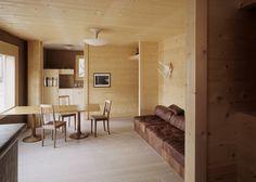 Haus Beckel Kübler by Swiss architect Gion A Caminada