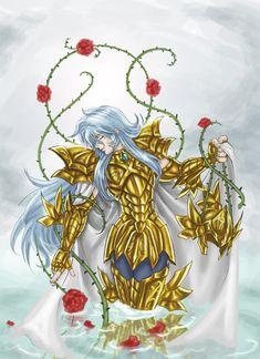 Albafica des Poissons Aphrodite, Cameleon Art, Blood Elf, Dragon Girl, Guy Drawing, Beautiful Artwork, Online Art, Canvas, Manga Anime