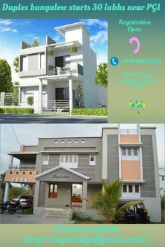 #Independent #2BHK & #3BHK #Duplexbungalowstarts30lakhsnearPGI. We having all #Plots #measurement available 100, 125, 150, 200, 250 sq yards. We are #constructing the series #wonderful #houses #furnished with your #inexpensive #budget only 30 #lakhs. you need to don't miss the #opportunity. Any #details please call on +919646650650 & check out our #website http://imperialgolfgreens.com/
