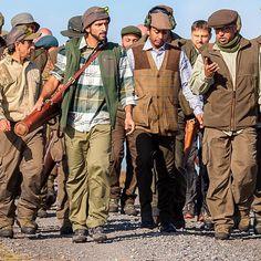 9/9/14 Yorkshire, England.  Sheikh Hamdan's annual grouse hunting trip.  PHOTO: Ali Essa____Uncle Saeed, Sheikh Hamdan, Abdul Majeed, Saeed HIlal, Matteo Europeo, alketbi71