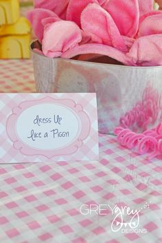 Three Little Pigs Birthday Party Ideas | Photo 3 of 46 | Catch My Party