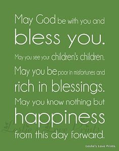 Irish Blessings for Your St Patricks Day