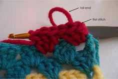 Attach a New Color Knotlessly | crochet again