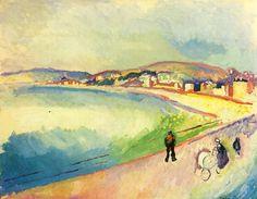 Raoul Duft - La Plage de Sainte-Adresse