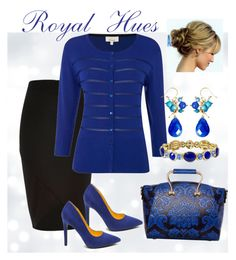 """Royal blue stand out!"""
