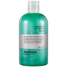 Anthony Logistics For Men Invigorating Rush Hair + Body Wash 12 oz by Anthony Logistics for Men. $22.00. Its the perfect product to cleanse and soothe from head to toe, post-work out. The unique Alpine Wood scent is both clean and masculine. Anthony Logistics for Men Invigorating Rush Hair + Body Wash is an instantly refreshing body wash and shampoo in-one. What it is: A two-in-one formula that cleanses and conditions with a woodsy, refreshing scent. What it does: Rec...