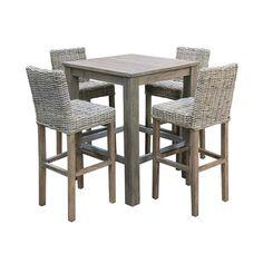 The Importer - Coastal Bar Table Setting Greywash
