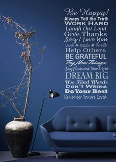 Family Rules wall  decal by LittleCreekMarket on Etsy, $38.00