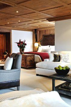 Alpina Gstaad Hotel, #Gstaad, Switzerland | snowzine.com