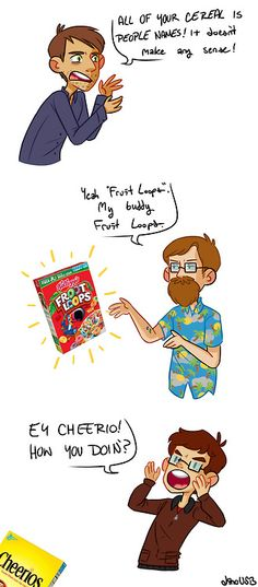Cereal is my friend (from: GTA Action News Pt.2)