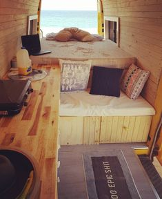 Living and traveling in a campervan can be really fun and exciting. If you are looking for guide and tips on camper living, check out our site. Kombi Trailer, Trailers, Vw Camping, Camping Hacks, Camping Stuff, Camping Essentials, Camping Ideas, Glamping, Camper Life