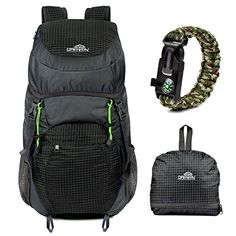 Ultralight Backpack Large Capacity 40L Packable Daypack Draway Waterproof Backpacks for Camping Hiking Outdoor Traveling Cycling *** You can find more details by visiting the image link.
