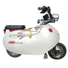 Itaponko Electric #Scooters #anime