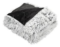 Plaid LOTUS imitatiebont w/grijs Ikea Bank, Amber Room, Fur Throw, Fake Fur, Sheepskin Rug, Sewing Class, Lotus, Home Accessories, Bean Bag Chair
