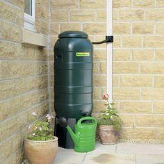 Mini Rainsaver Water Butt Kit - 100 litre