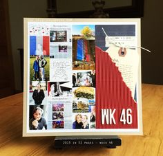 art scrap & more: 2015 in 52 Pages ➲ WEEKS 46