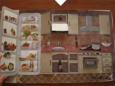 "Craftástico: manualidades ""made in casa"" : Casa para muñecas recortables"