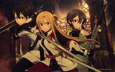Sword Art Online Movie, Asada Shino, Kirito Sao, Pokemon, Online Anime, Anime Crossover, Photos, Pictures, Online Art Gallery