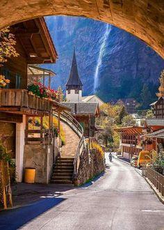 Lauterbrunnen,Switzerland. Photo by christofs 70.