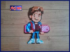 Marty McFly - Back to the FUture hama beads by Pix'L'and