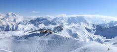 Esquiar en los Alpes Franceses: un sueño para todo fan del esquí y la montaña! #ski #esqui #alpes