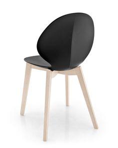 BASIL Plastic chair by Calligaris design Mr Smith Studio / S.T.C.