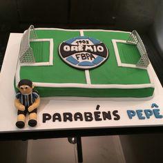 Bolo para festejar o aniversário do Pepe