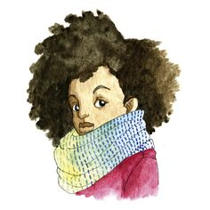 When I write a middle grade book. 'Cozy' art by Sharee Miller.