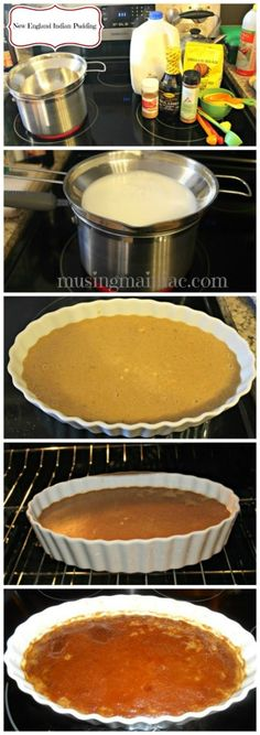 New England Indian Pudding