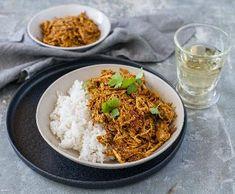 Perské trhané kuře | Recepty Albert Rice, Ethnic Recipes, March, Food, Essen, Yemek, Jim Rice, Eten, Mars