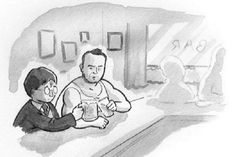 #AlanRickman Honored by Harry Potter, John McClane in The New Yorker Cartoon http://www.thewrap.com/alan-rickman-honored-by-harry-potter-john-mcclane-in-new-yorker-cartoon #Art