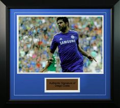 With 10 Matchweeks to go in the EPL, Chelsea's Diego Costa is locked in battle in the race for the Barclays Golden Boot with 17 goals this season. Find our collection of autographed and framed memorabilia of Diego Costa.     http://famousmemorabilia.com/football/players/diego-costa   #epl #chelsea #diegocosta #goldenboot2015 #famousmemorabilia