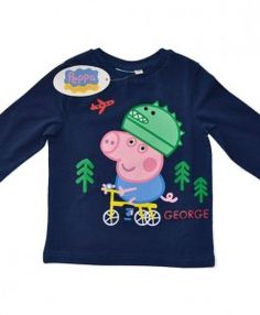 PEPPA PIG – ΠΑΙΔΙΚΗ ΜΠΛΟΥΖΑ – GEORGE ΓΟΥΡΟΥΝΑΚΙ ΜΠΛΕ http://www.babykid.gr/