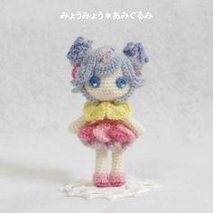 muñeca amigurumi pagina japonesa